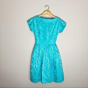 60s mini vintage cocktail dress.